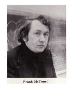 Frank McCourt. 1974 Stuyvesant High School year book.