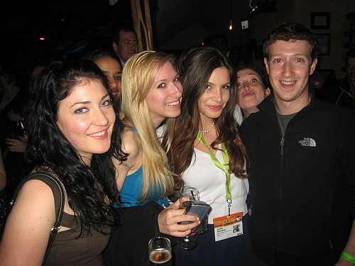 Mark Zuckerberg, 26 years old and latest billionaire boy club member,