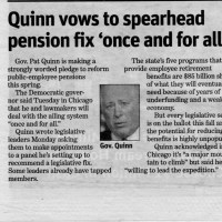 Six years ago the Illinois Supreme Court ruled our teacher pensions could not be diminished or impaired. The Republicans weren't listening and they're back at it.