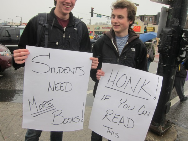 Chicago's Lane Tech College Prep students want MORE books. Not banned books.