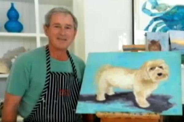 george-bush-paintings-dogs