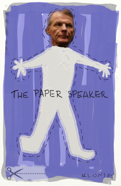 the paper speaker