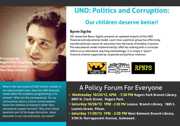 From Tim Furman. Byron Sigcho on UNO: Politics and corruption.