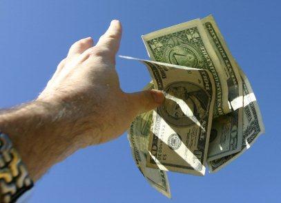 Money toss