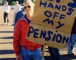 underfunded pension