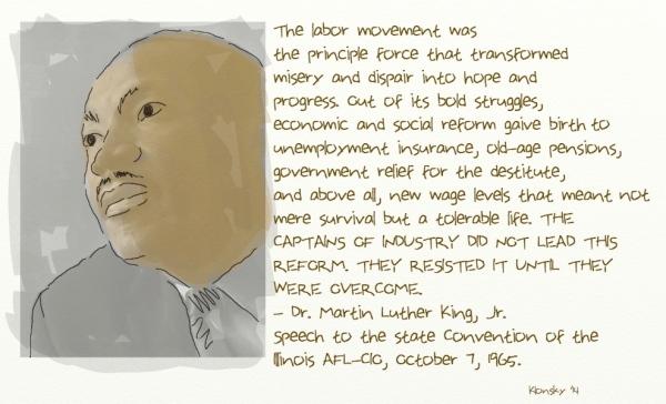 MLK labor day