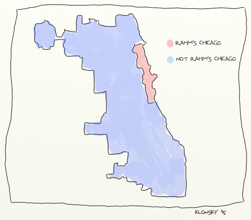February 2015 political map of Chicago  Fred Klonsky