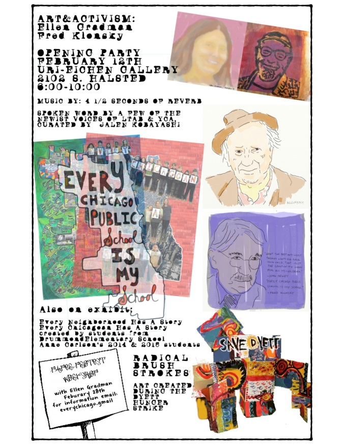 email art show Feb. 12