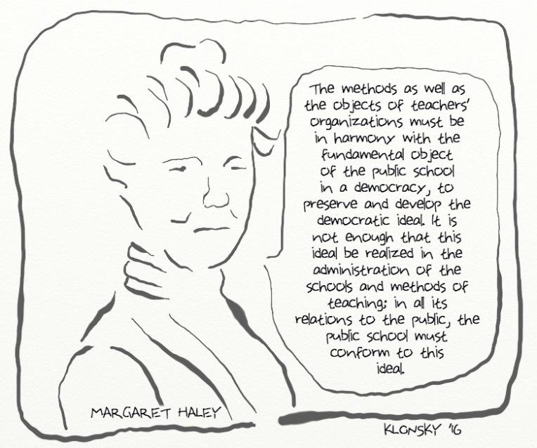 Margaret Haley