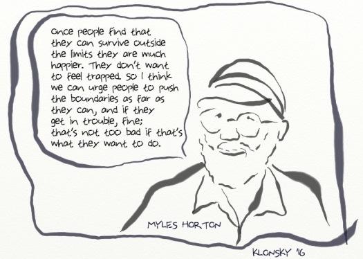 MYLES horton