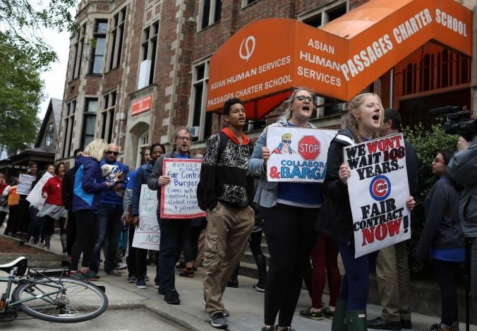 ct-passages-charter-school-strike20170524.jpg