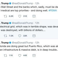 Puerto Rico's urgency, the cruelty of Donald Trump and colonial history.