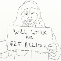 Will work for $2.5 billion.