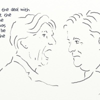 Randi Weingarten's secret meeting with Steve Bannon.