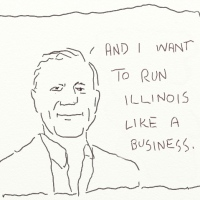Rauner kills. Nursing homes and veteran homes.