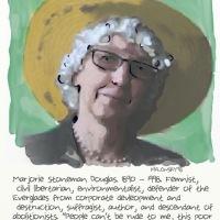 Marjorie Stoneman Douglas.
