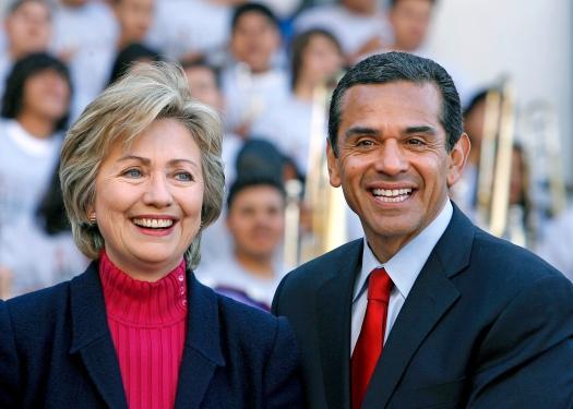 USA - Election 2008 - California - Senator Clinton Campaigns