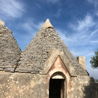 Postcard from Puglia. Trulli, Jared Kushner and me.