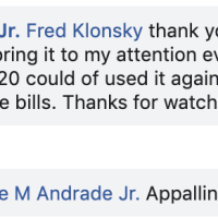 My weird Facebook exchange with Illinois' State Representative Jaime Andrade about the 3% cap on teacher salaries.